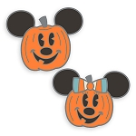 Disney Pin Set - Halloween 2020 - Mickey & Minnie Pumpkins