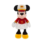 Disney Plush - Disney Cruise Line - Captain Minnie Mouse - 18''
