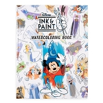 Disney Watercolor Coloring Book - Ink and Paint