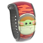 Disney MagicBand 2 Bracelet - Star Wars The Mandalorian - The Child in Hover Pod