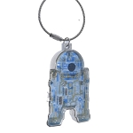Disney Loungefly Keychain - Star Wars Droid Depot - R2-D2 - Light and Sound