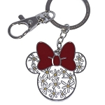 Disney Keychain - Minnie Icon - Flower