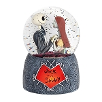 Department 56 Snow Globe - Tim Burton's Nightmare Before Christmas - Jack and Sally
