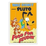 Disney Pin - Pluto 90th Anniversary Pin – Food for Feudin' – Limited Edition