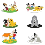 Disney Pin - Pluto 90th Anniversary Mystery Pin Pack – Limited Edition
