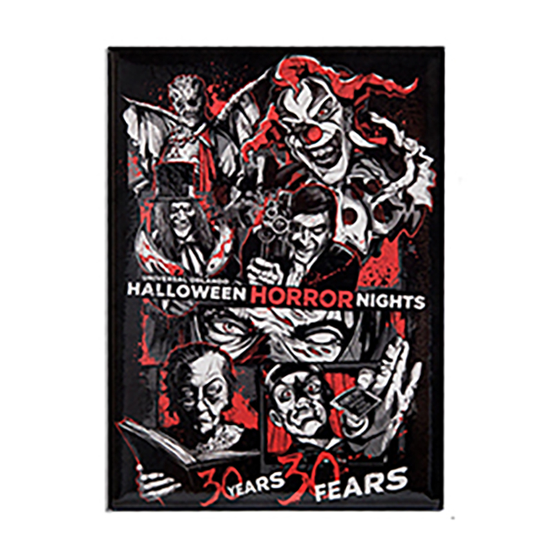 Universal Magnet - Halloween Horror Nights - 30 Years 30 Fears - Icons