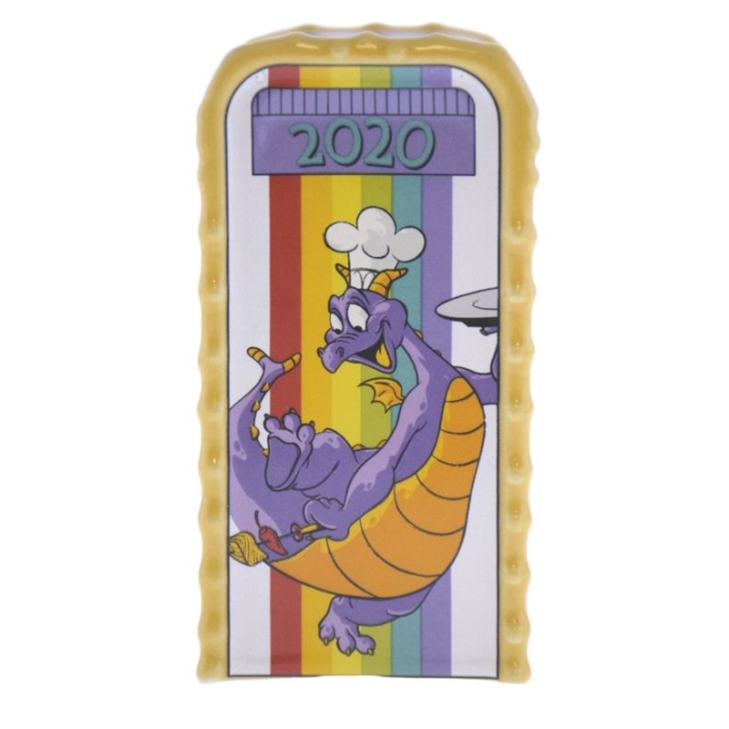 EPCOT 2020 Food and Wine Festival Figment Trash Can Salt//Pepper Shaker