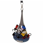 Disney Ornament - Epcot World Showcase Mickey Minnie Paris