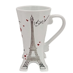Disney Coffee Cup Mug - Mickey and Minnie Eiffel Tower