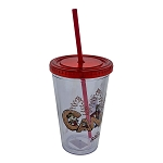 Disney Tumbler with Straw - Epcot Canada Mickey and Pals