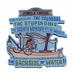 Disney Magnet - Jungle Cruise - Backside of Water