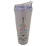 Disney Travel Tumbler - Epcot France Macaron