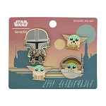 Disney Loungefly 4 Pin Set - The Child - Star Wars; The Mandalorian