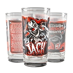 Universal Collectible Glass - Halloween Horror Nights - Jack The Clown