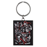 Universal Keychain - Halloween Horror Nights - 30 Years 30 Fears - Icons