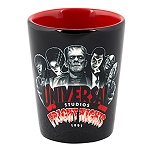 Universal Shot Glass - Halloween Horror Nights - Fright Nights 1991 Monsters