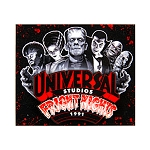 Universal Magnet - Halloween Horror Nights - Retro Fright Nights 1991 Monsters