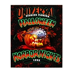 Universal Magnet - Halloween Horror Nights - Retro 1992 Pumpkin