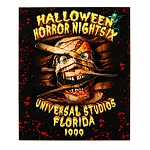 Universal Magnet - Halloween Horror Nights - Retro 1999 Mummy