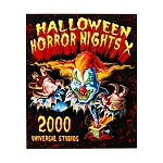 Universal Magnet - Halloween Horror Nights - Retro 2000 Jack The Clown