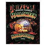 Universal Poster - Halloween Horror Nights - Retro 1992 Pumpkin