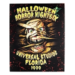Universal Poster - Halloween Horror Nights - Retro 1999 Mummy
