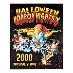 Universal Poster - Halloween Horror Nights - Retro 2000 Jack The Clown