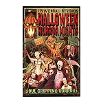 Universal Poster - Halloween Horror Nights Comic