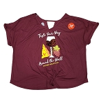 Disney WOMEN'S Shirt - EPCOT International Food and Wine Festival 2020 -  Taste Your Way Around The World - Flip Sequin