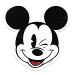 Disney Window Decal - Mickey Mouse