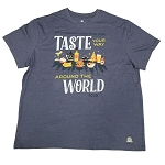 Disney ADULT Shirt - EPCOT International Food and Wine Festival 2020 - Taste Your Way Around The World