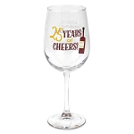Disney Wine Glass - 2020 Epcot International Food & Wine Festival 25th Anniversary