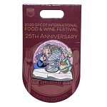 Disney Food and Wine Festival Pin - 2020 Three Fairies - 25th Anniversary - Limited Edition