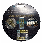Disney Food and Wine Festival Pin - 2020 Four Pin Set - 25th Anniversary - Brews Around the World
