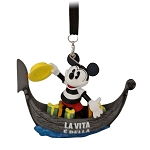 Disney Figure Ornament - Epcot Italy Gondolier Mickey