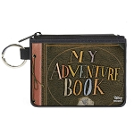 Disney Canvas Zipper Wallet - Mini 3 x 4 X-Small - UP My Adventure Book