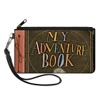 Disney Canvas Zipper Wallet - 8 x 5 Large - UP My Adventure Book