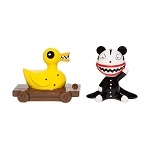 Disney Salt and Pepper Shaker Set - Scary Teddy and Killer Duck
