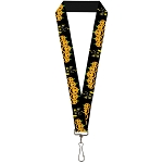 Designer Lanyard - Happy Halloween - Jack O' Lanterns and Haunted House