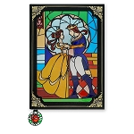 Disney Storybook Replica Journal - Beauty and the Beast Stained Glass Window