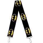 Universal Studios Designer Replacement Crossbody Purse Strap - Batman Symbol