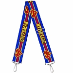 Universal Studios Designer Replacement Crossbody Purse Strap - Superman Symbol