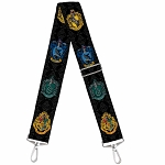 Universal Studios Designer Replacement Crossbody Purse Strap - Hogwarts House Crests