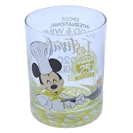 Disney Rocks Glass - EPCOT Food and Wine Festival - 25th Anniversary - Passholder - Chef Mickey