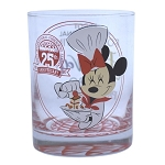 Disney Rocks Glass - EPCOT Food and Wine Festival - 25th Anniversary - Passholder - Chef Minnie