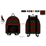 Loungefly Mini Backpack - Nightmare on Elm Street - Freddy Sweater