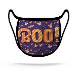 Disney Face Mask - Boo! Halloween Snacks - Purple