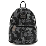 Disney Loungefly Backpack -  Disney Villains Debossed All Over Print