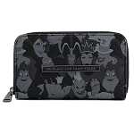Disney Loungefly Wallet - Disney Villains Debossed All Over Print