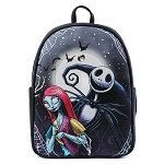 Disney Loungefly Mini Backpack - NBC - Jack and Sally Simply Meant To Be